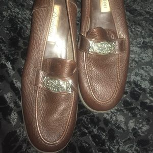 Brighton Brown Loafers 9.5